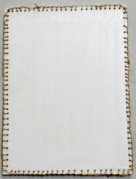 Tischset, Palmholz, weiß