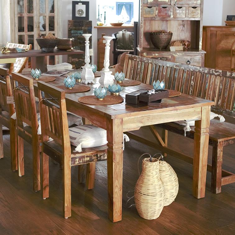 essen online shoppen teakon moebel. Black Bedroom Furniture Sets. Home Design Ideas